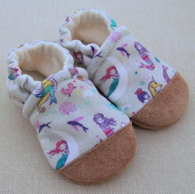 Mermaids Organic Cotton Slippers