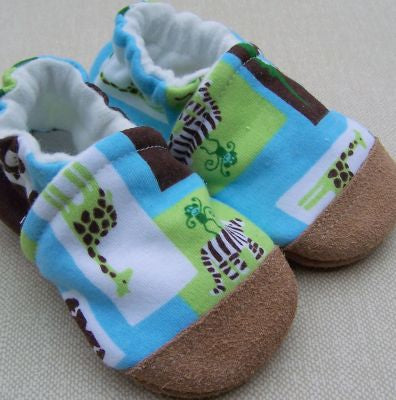 Mint Chocolate Zoo Slippers