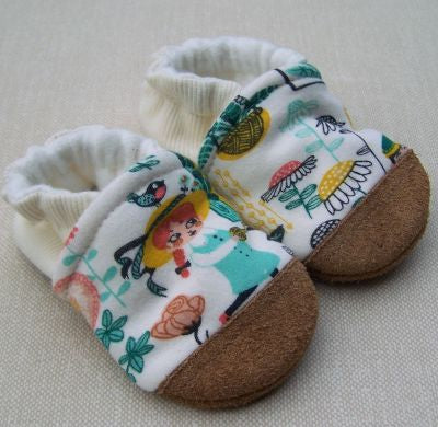 Secret Garden Organic Slippers