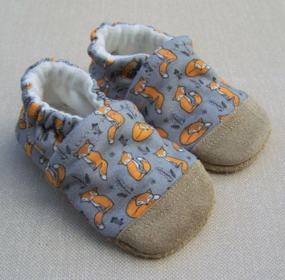 Fox Organic Cotton Slippers