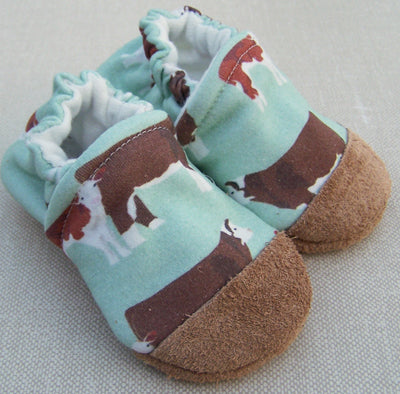Moo Slippers