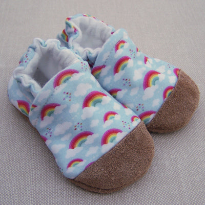 Rainbow Organic Slippers