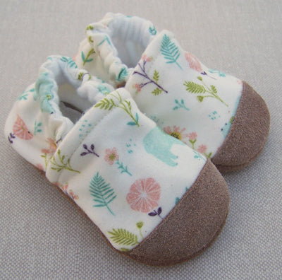 Garden Bear Organic Slippers