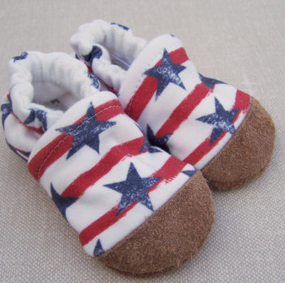 Stars and Stripes Organic Slippers