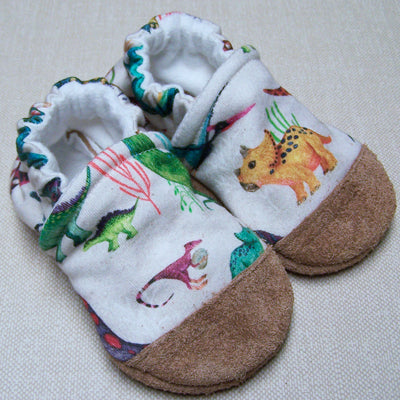 Dino Might Organic Slippers