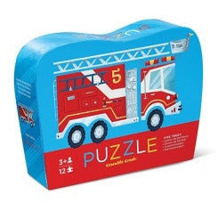 Fire Truck Puzzle - Lil Tulips - 1