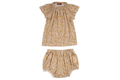 Rose Floral Bamboo Dress & Bloomer
