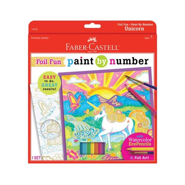 Paint by Numbers Unicorn