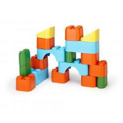 Green Toys Block Set - Lil Tulips - 1