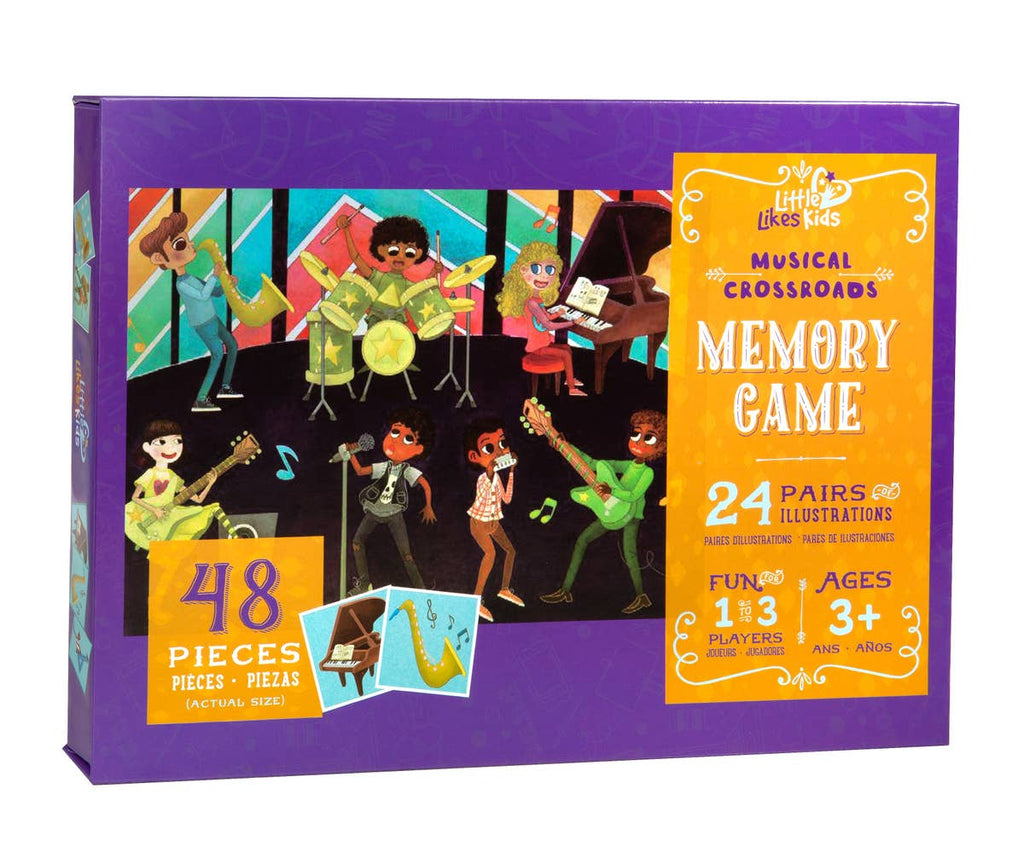 Musical Crossroads Memory Game