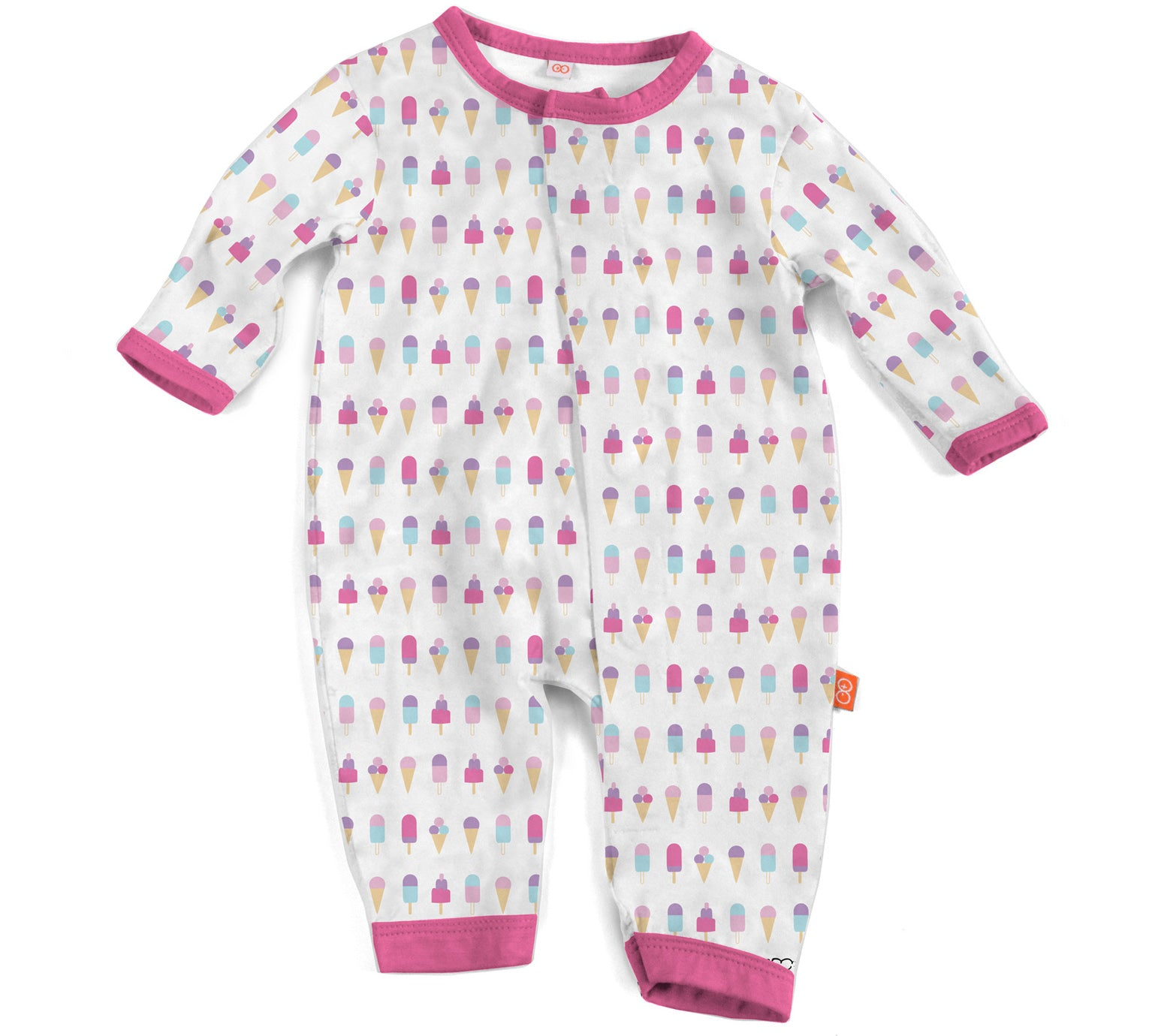Ice Cream Modal Magnetic Coverall – Lil Tulips