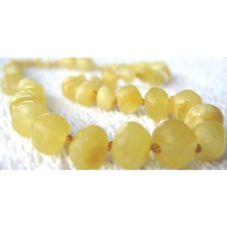 inspired by finn Baltic Amber Necklace [Polished Butter] - Lil Tulips