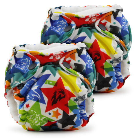 Lil Joey All In One Cloth Diaper (2 pk) - Dragons Fly