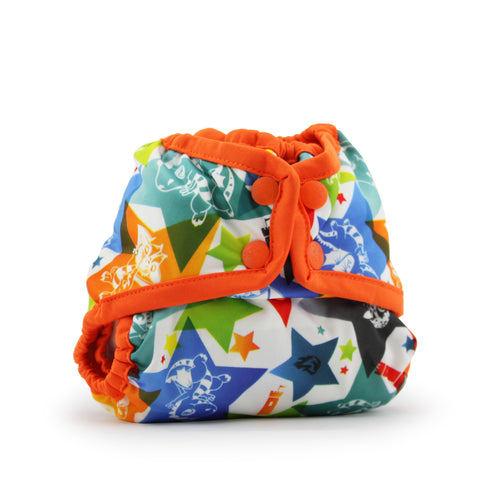 Rumparooz NEWBORN Cloth Diaper Cover [SNAP] - Lil Tulips - 1