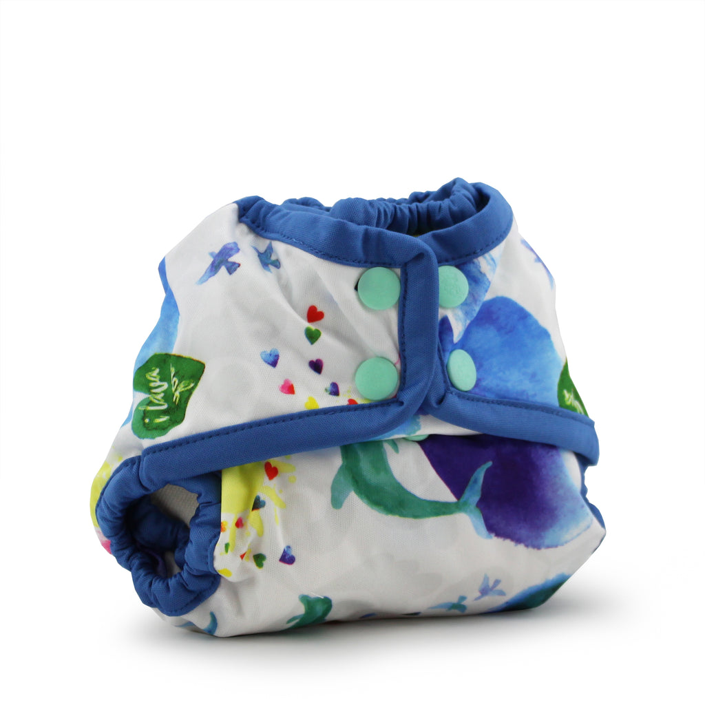 Rumparooz Newborn Cloth Diaper Cover - Lava