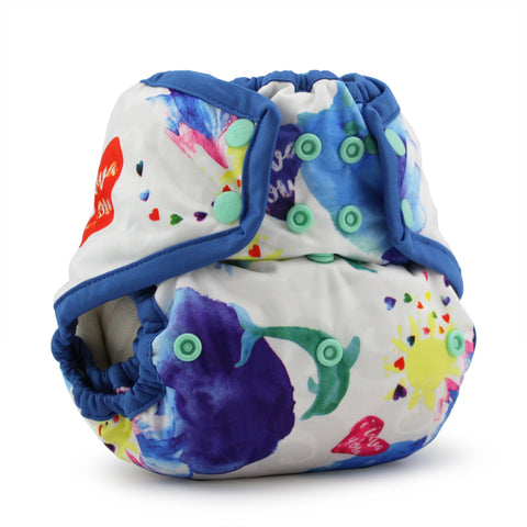 Rumparooz One Size Cloth Diaper Cover - Lava