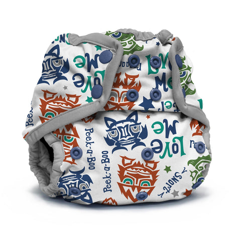 Rumparooz One Size Cloth Diaper Cover - Lil Monster Reboot