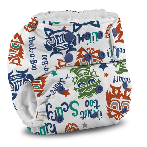 Rumparooz One Size Cloth Diaper - Lil Monster Reboot