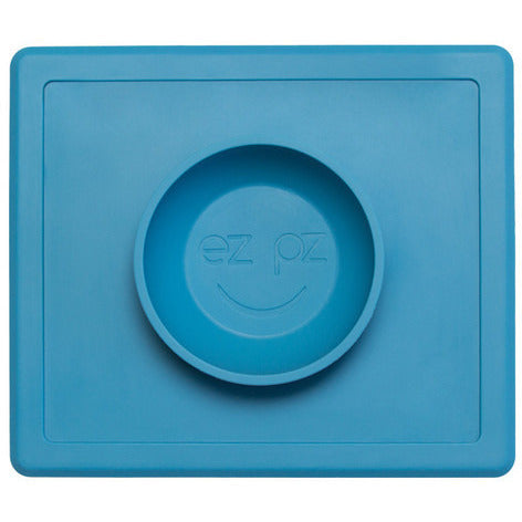 Ezpz Silicone Happy Bowl Mat - Lil Tulips - 1