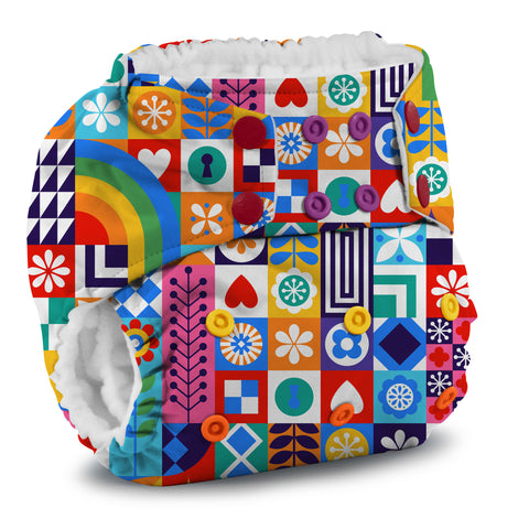Rumparooz One Size Pocket Cloth Diaper - Resolution