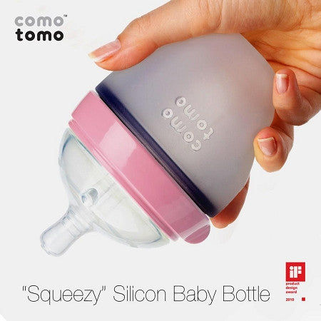 Como Tomo Silicone Baby Bottle - Lil Tulips - 1