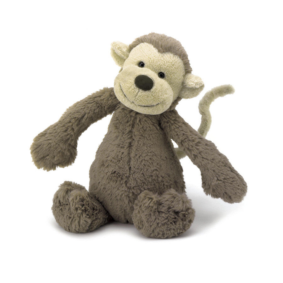 JellyCat Bashful Monkey Small - Lil Tulips
