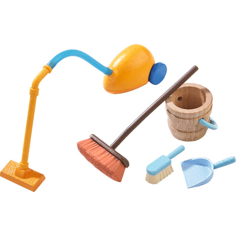 Dollhouse Accessories Spring Cleaning - Vacuum and Broom