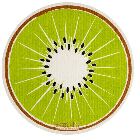 Kiwi Round Swedish Cloth