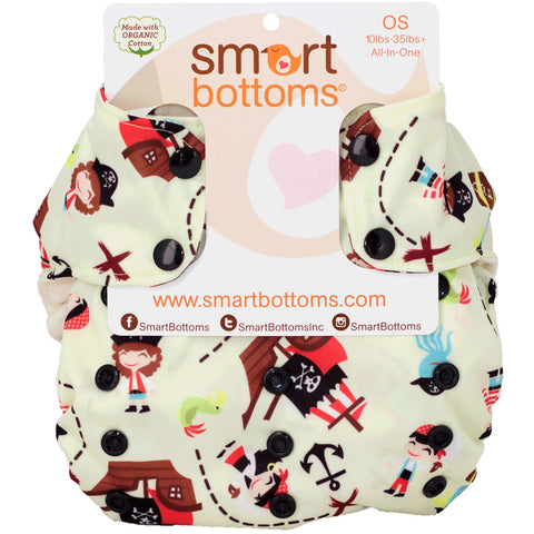 Smart Bottoms AIO EXCLUSIVE Swashbucklers Adventure - Lil Tulips