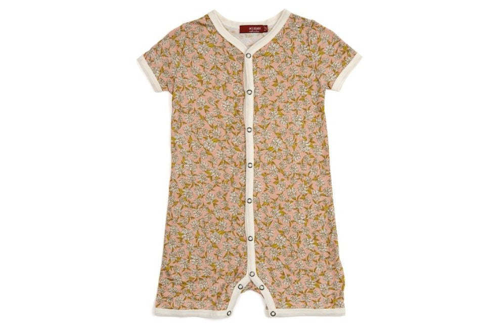 Rose Floral Bamboo Shortall