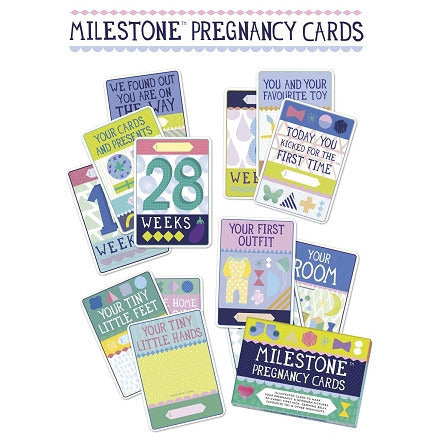 MILESTONE Pregnancy Cards [30 Cards] - Lil Tulips - 1