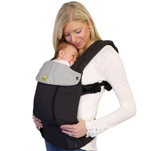 Lillebaby All Seasons Baby Carrier Charcoal Silver - Lil Tulips - 1