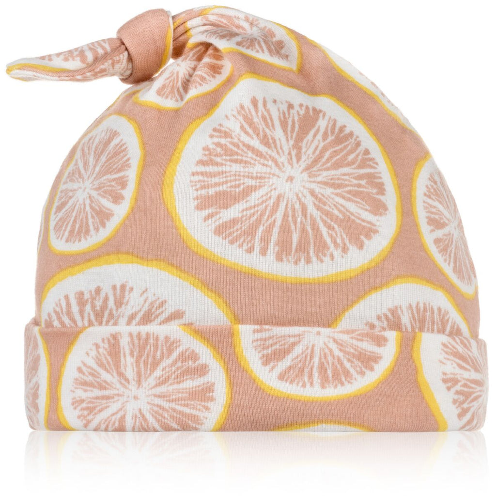 Grapefruit Knotted Hat