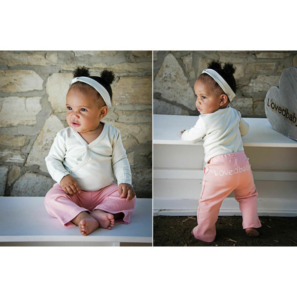 Loved' Baby Organic Signature Pant - Lil Tulips - 2