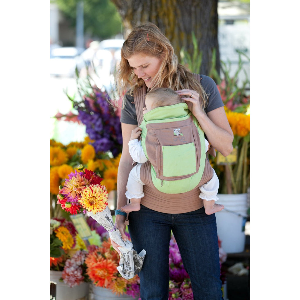 Onya Baby Cruiser Baby Carrier - Lil Tulips - 1