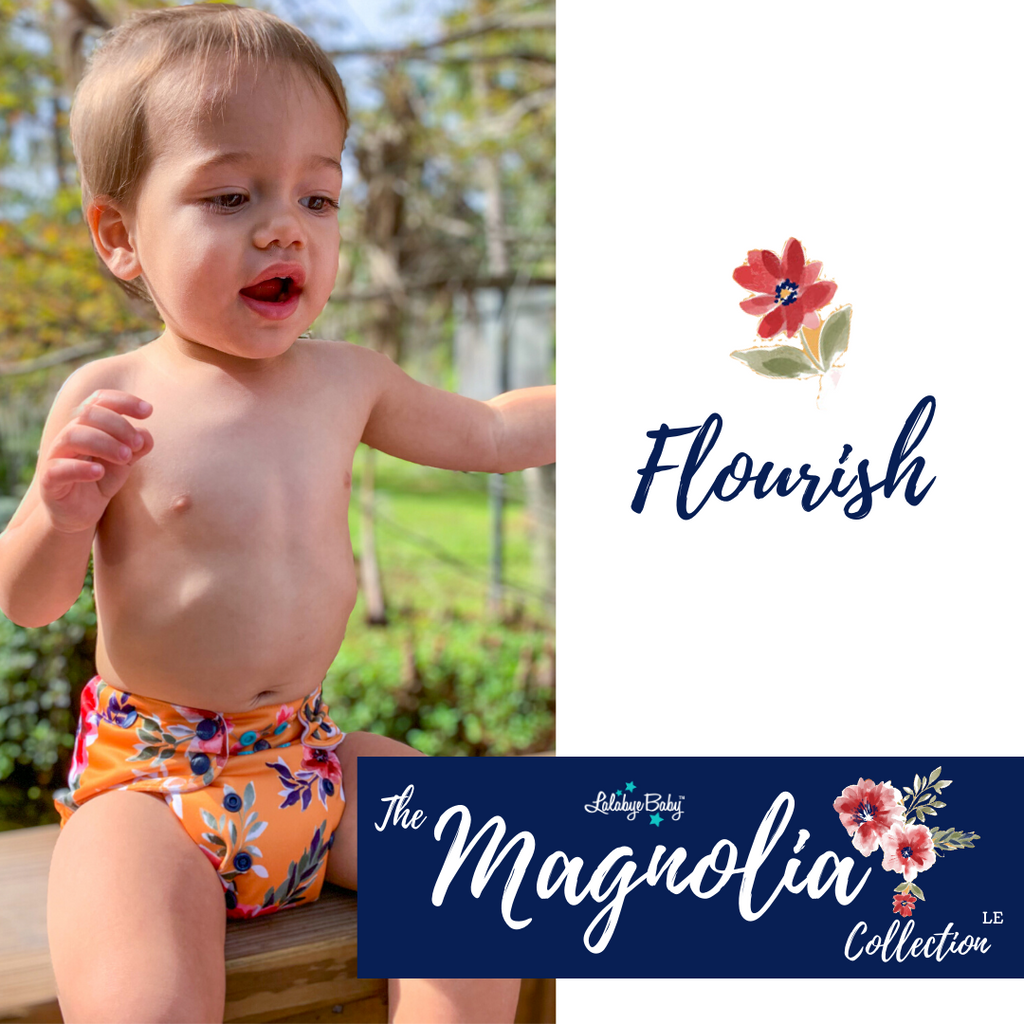 The Magnolia Collection FLOURISH ( Yellow Floral )