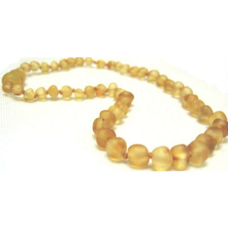 inspired by finn Baltic Amber Necklace [Raw Amber Lemonade] - Lil Tulips - 1