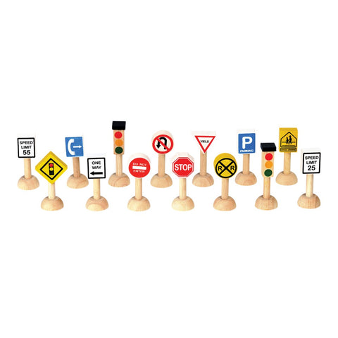 Set Of Traffic Signs & Lights (usa)
