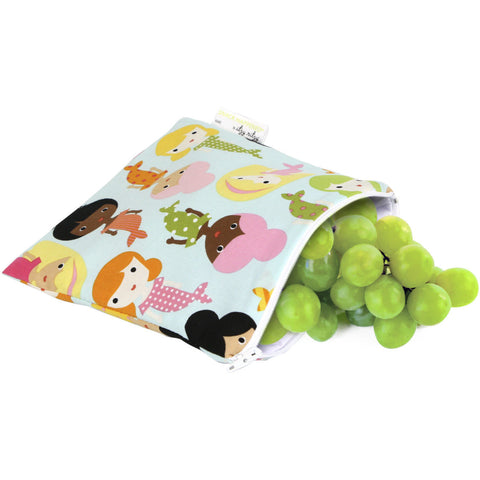 Itzy Ritzy Snack Happened Reusable & Washable Snack Bags - Lil Tulips - 1