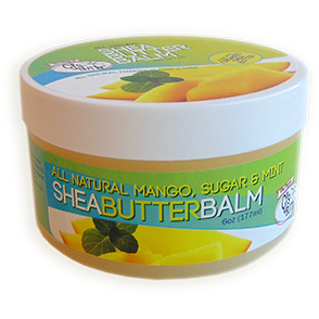 Original CJ's BUTTer® Shea Butter Balm 6 oz. Pot - Lil Tulips - 1