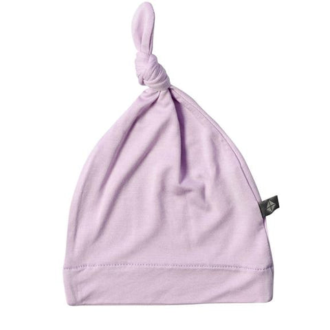 KNOTTED CAP IN MAUVE