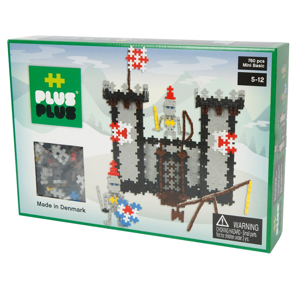 Plus Plus Mini 760 pc Knight's Castle