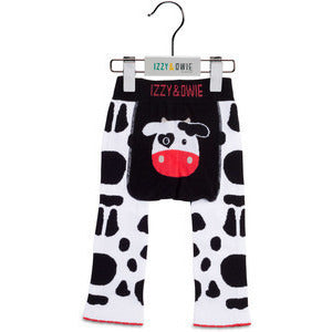 Izzy & Owie Cow Leggings - Lil Tulips