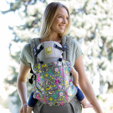 Lillebaby All Seasons Baby Carrier Dream Forest - Lil Tulips