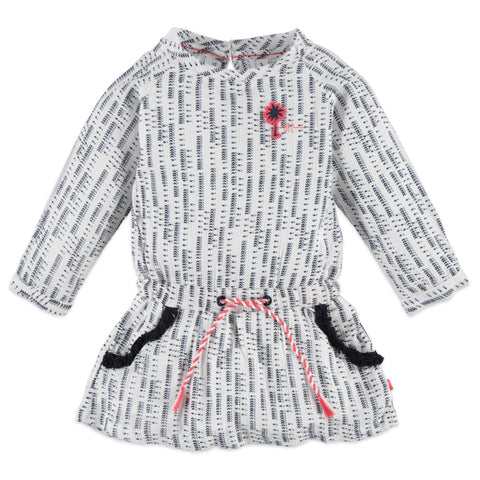 Girls Printed Longsleeve Dress