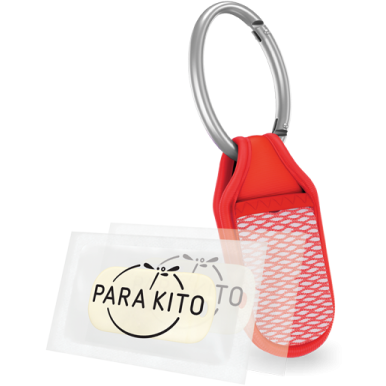 Parakito Refillable Mosquito Repellent Clip - Lil Tulips - 1