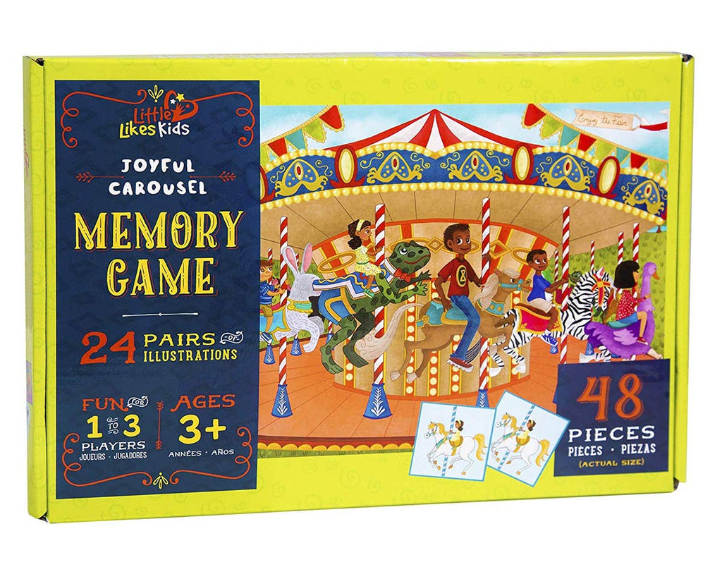 Joyful Carousel Memory Game
