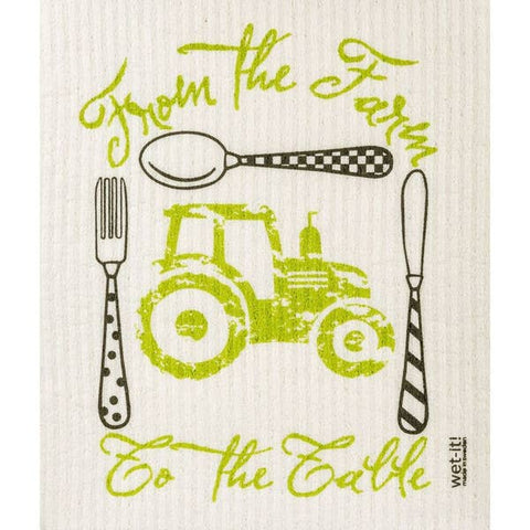 Farm to Table Swedish Cloth