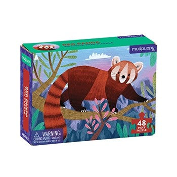 Red Panda 48 Piece Mini Puzzle