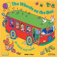 The Wheels on the Bus Board Book w/Holes